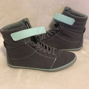 Creative Recreation gray high tops